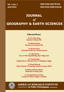 Journal of Geography and Earth Sciences (JGES)
